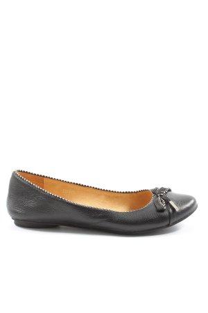 Shirin  Sehan Foldable Ballet Flats black casual look