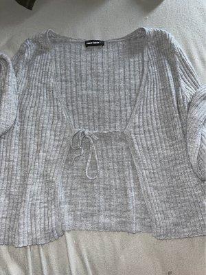 Tally Weijl Camicia lunga grigio chiaro