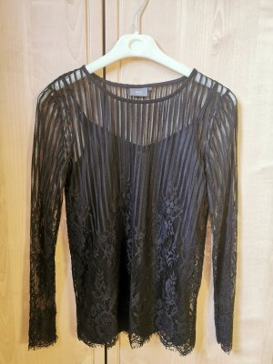 Ichi Mesh Shirt black