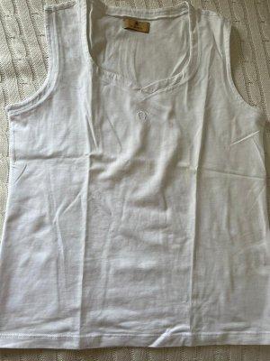 Aigner Camiseta sin mangas blanco
