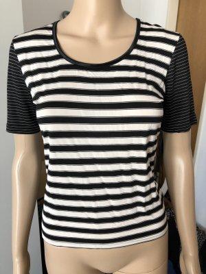 Louis London T-shirt nero-bianco