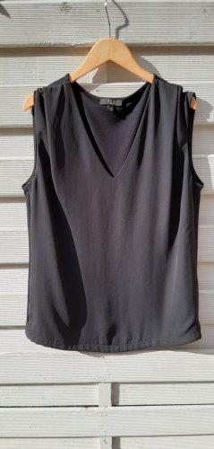 1.2.3 Paris Koszulka z dekoltem w kształcie litery V czarny