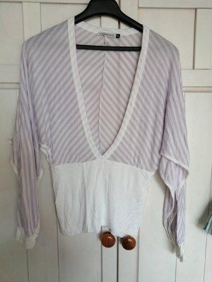 Freesoul T-shirt blanc-violet