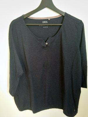 Cecil Basic Shirt dark blue