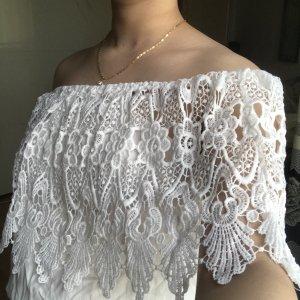 Colloseum Koszulka z dekoltem woda biały