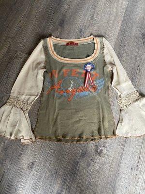 10 FEET Koszulka z nadrukiem khaki