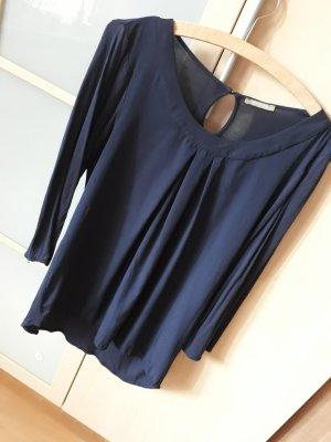 Orsay Boatneck Shirt blue polyester