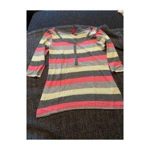 H&M Divided Gestreept shirt veelkleurig