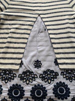 Lieblingsstück Top à manches longues bleu azur-blanc