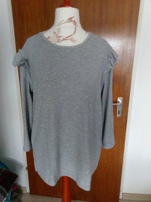 Yessica Shirt basique gris clair viscose