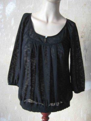 Promod Camicia a tunica nero