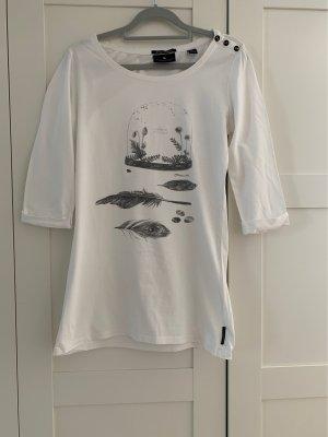 Shirt 3/4 Maison Scotch Gr.2 / 36 weiß