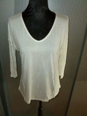 Shirt 3/4 weiß Orsay