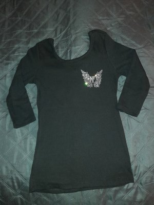 Ribbed Shirt black