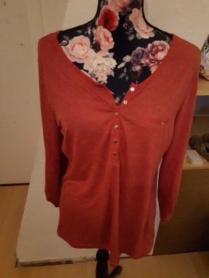 Janina Shirt Tunic bright red