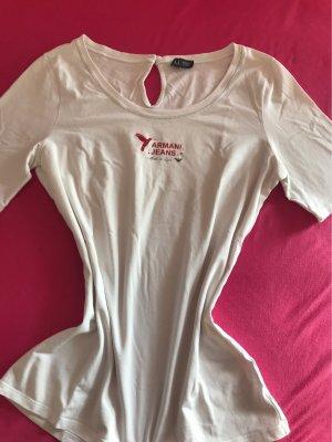 Armani T-Shirt white cotton