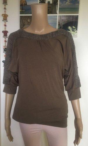 Tchibo / TCM Boatneck Shirt khaki