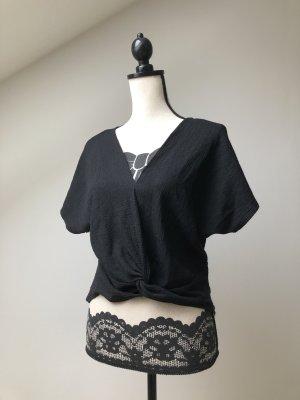 Zara Woman Maglietta aderente nero