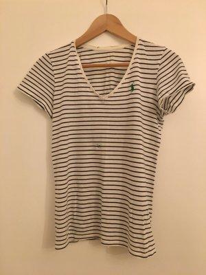 Lauren by Ralph Lauren Basic Shirt white-dark blue