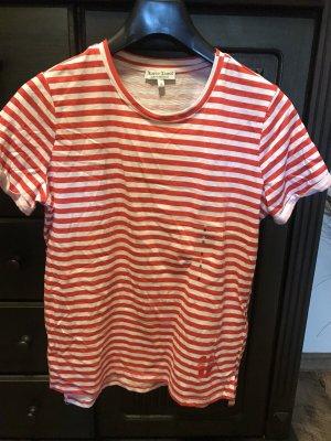 Marie Lund Copenhagen Stripe Shirt white-red