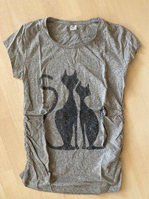 17&co Shirt met print grijs