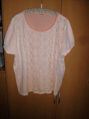 Laura Torelli Gehaakt shirt nude Katoen