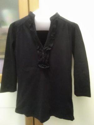 Naf naf T-shirt col en V noir