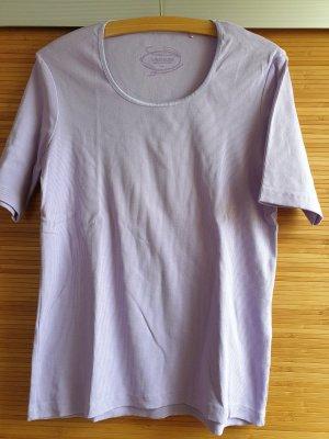 Gina Laura Ribbed Shirt purple