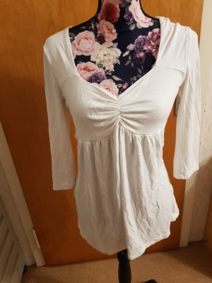 Melrose Koszulka z dekoltem w kształcie litery V biały