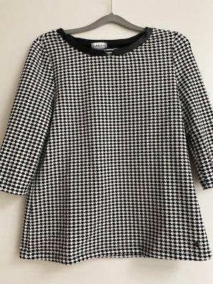 Batik shirt zwart-wit Katoen