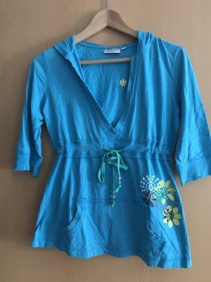 mawi Blusa con capucha multicolor