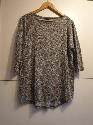 Amisu Lang shirt grijs