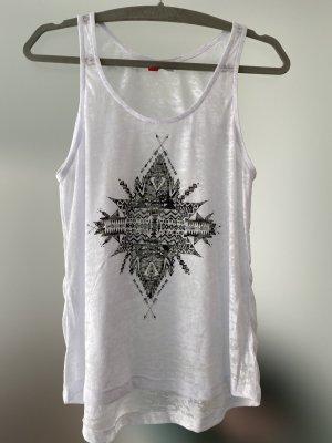 H&M Divided Camicia oversize bianco-nero