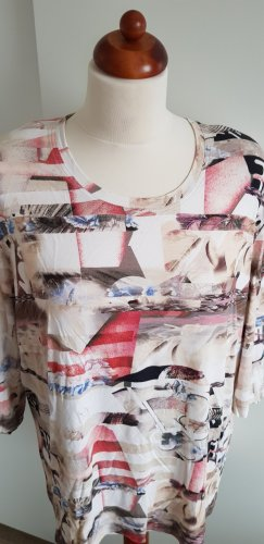 AZ Modell Print Shirt white-pink