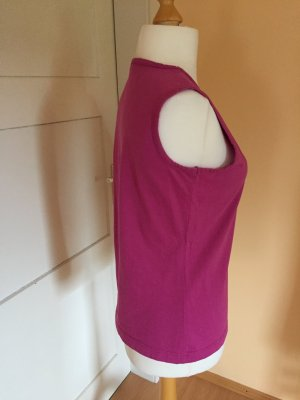 Muscle Shirt violet-magenta cotton