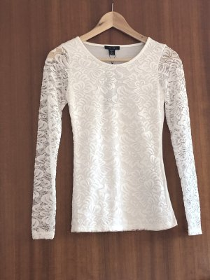 Camisa tipo Carmen blanco puro