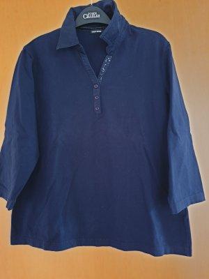 Gerry Weber Koszulka z dekoltem w kształcie litery V ciemnoniebieski