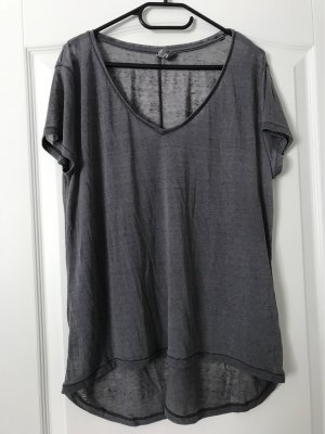 H&M Long Shirt dark grey