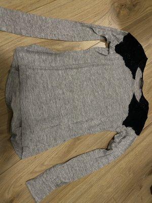 Zara Manica lunga nero-grigio chiaro