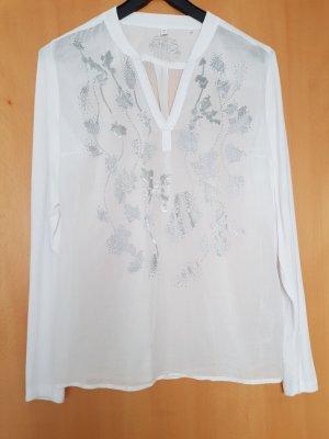 Soccx V-Neck Shirt white-light grey