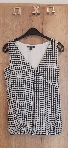 Esprit Long Shirt white-black