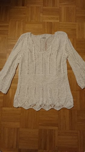 Apart Knitted Jumper white