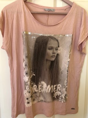 17&co Print Shirt rose-gold-coloured-silver-colored