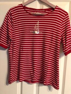 Sa.Hara T-Shirt red-white