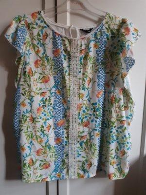 Cortefiel Blouse Shirt multicolored cotton