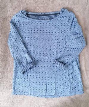 edc by Esprit Boatneck Shirt blue-azure