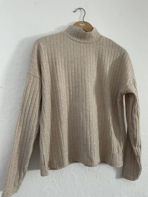 H&M Turtleneck Shirt beige