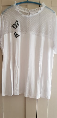 bpc bonprix collection Mesh Shirt white