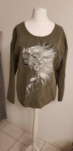 Boatneck Shirt khaki