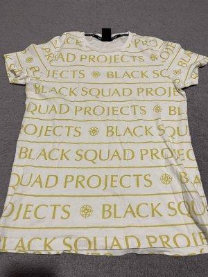 Black Squad Shirt basique blanc